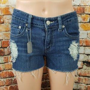 Distressed Levi's 518 Shorts 😎